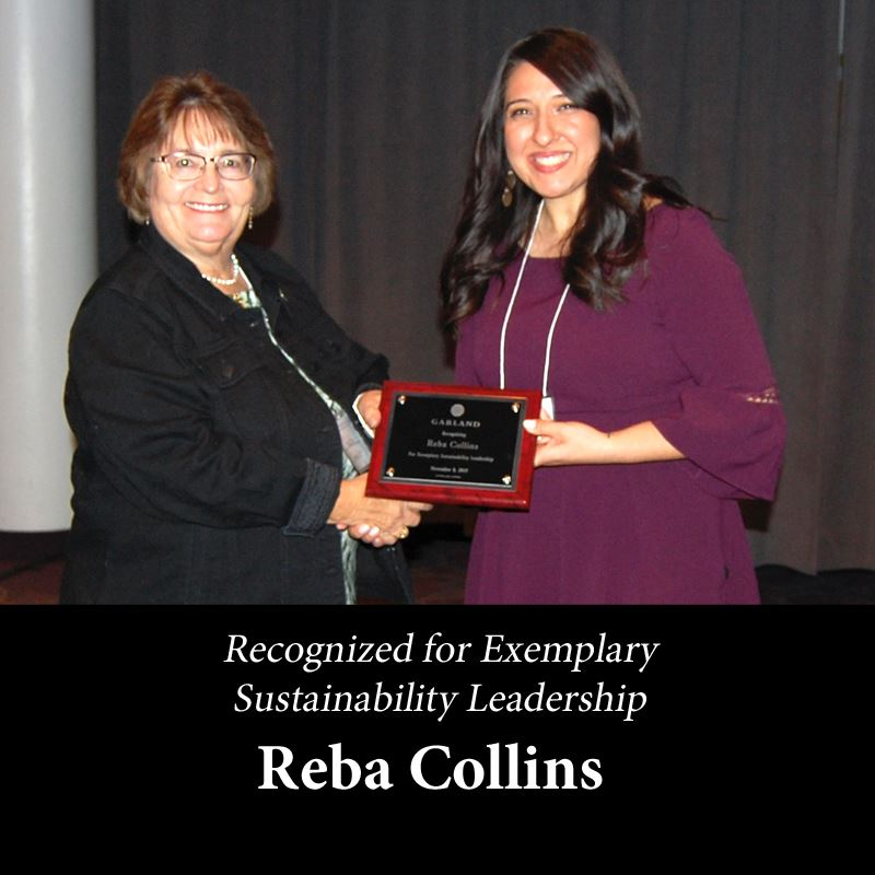 reba collins for Exemplary Sustainability Leadership