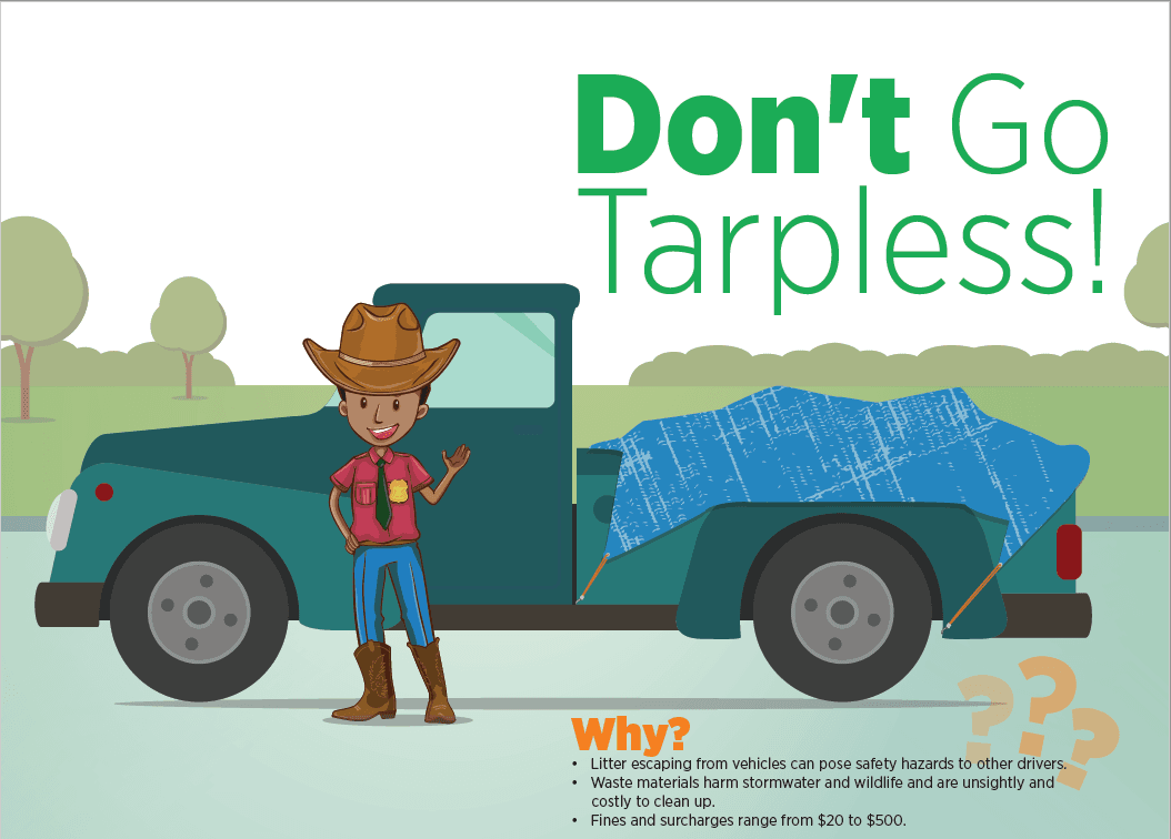 Don't Go Tarpless!